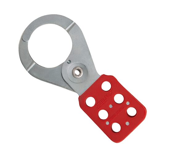 Pinza metálica para bloqueo, es para trabajar múltiples bloqueos mecánicos, hidráulico o cable ajustables.