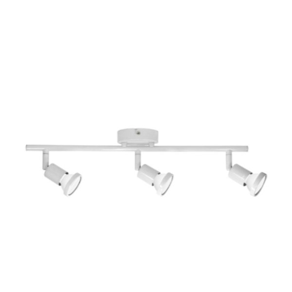 Barra de luces 3XGU10 blanco