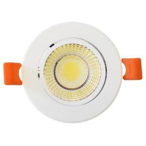 Foco LED embutido IP20, 5W, 3.000K